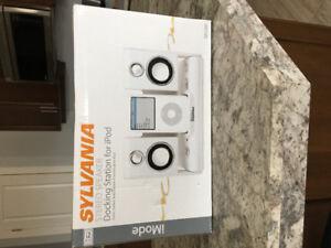 iPod Docking Station Stereo Speakers