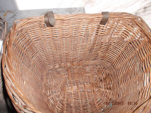 old Wicker type Front Handlebar Bike Baskets