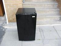 Black bar fridge
