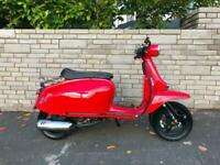 Scomadi TL 125cc Scooter 2018Y Red