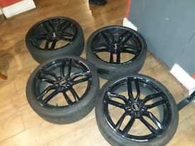 """19"""" Audi S3 Alloys with tyres"""