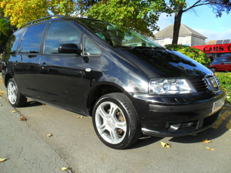 SEAT ALHAMBRA 1.9 TDi DIESEL 2003 COMPLETE WITH M.O.T HPI CLEAR INC WARRANTY