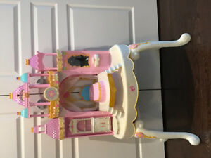 Vintage Girls Misical Doll Play Table