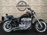 2014 Harley-Davidson XL 883 L SUPERLOW 14, 1915 Miles, Lots Of Extras