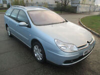 2007 57 CITROEN C5 1.6HDI 16V 110 VTX+ ESTATE LOW 102K SAT CRUISE SH TIDY THROUGHOUT WOW PX SWAPS