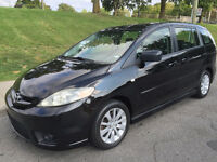 2006 MAZDA 5 , MANUEL , 6 PASSAGERS , TOUTE EQUIPE, 4 CYLINDRE
