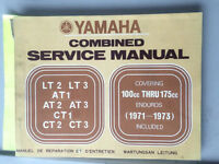 71 72 73 Yamaha LT AT CT DT Combined Service Manual