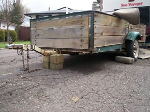 FOR SALE....UTILITY TRAILER AND SPARE AXEL