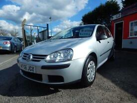 2007 Volkswagen Golf 1.4 S 80 5dr [AC] Low mileage,Great spec,12 months mot,W...