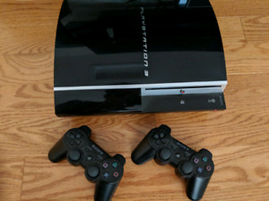 PS3 250 GB + 2 Controllers + 13 Games