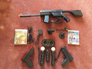 PS Move with guns and games