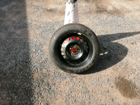 Vauxhall Astra spare wheel and Tyre as