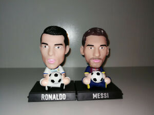 MESSI Bobblehead Barcelona RONALDO REAL MADRID world cup