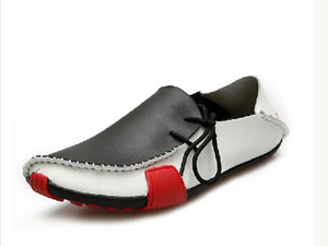 Men's lightweight leather shoes/size 8 only