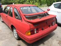 Merkur XR4Ti -a rare vehicle!