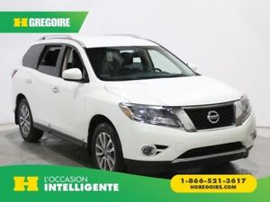 2014 Nissan Pathfinder SL AWD 7PLACES CUIR MAGS BLUETOOTH CAMERA