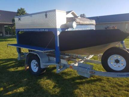 BELCO LAND AND SEA CAMPER / BOAT TRAILER