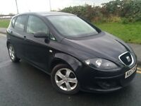 2007 57 Seat Altea 1.9 Tdi reference 5 door hatchback # cheap ins + tax # 1 owner from new