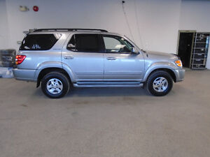 2002 TOYOTA SEQUOIA LTD 4X4! LUXURY SUV! SPECIAL ONLY $9,900!!!!