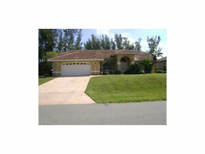 *Home is in Cape Coral,FL,USA*POOL Home on Freshwater Canal*