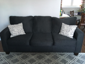 Charcoal Grey Couch for Sale