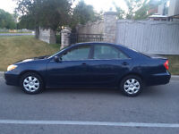 2004 Toyota Camry LE 4 Cyl / LOW KM 138,000 / full power options