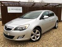 Vauxhall Astra 1.6 SRI 2011 Silver Automatic Petrol Manual 5 door Hatchback