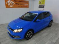 BLUE VOLKSWAGEN POLO 1.2 MATCH TSI ***FROM £215 PER MONTH***