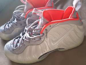 "Air Foamposite Pro ""Pure Platinum"" Size 13"