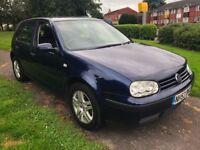 Volkswagen Golf 1.6 Match 5dr One Previous Owner & Serviced 2004 (53 reg), Hatchback