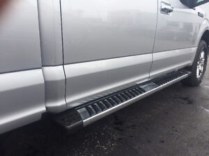 2017 Ford Supercrew running boards complete with hard wear