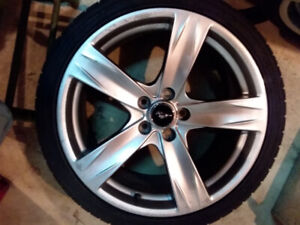 Mustang 19 inch rims
