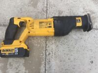 Dewalt 18v dcs380 RIP SAW