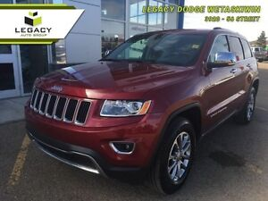 2015 Jeep Grand Cherokee Limited   - power seats - Low Mileage