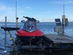 Seadoo and boat lift with dock