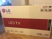 """LG 43"""" Full HD TV Brand new in box"""