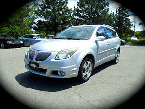 2005 Pontiac Vibe. AUTOMATIC & AC, PWER GROUP. *** LOW KM ***