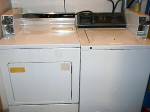 Inglis Commercial Coin Washer and Dryer Pair