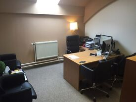 Secure office space from £165pcm includes electric, gas, water & buildings insurance