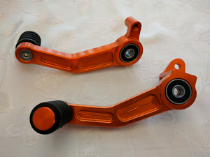 KTM Duke or RC 390 shifter and brake levers