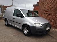 Volkswagen CADDY 2007 57 plate Silver SDI side loading door and twin rear doors nice smooth drive