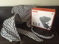 Grey Cubes Style Kit for Stokke Crusi / Xplory v3/v4