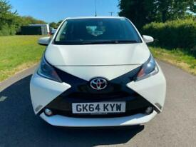 2014 Toyota AYGO 1.0 VVT-i X-Pression White 5dr HATCHBACK Petrol Manual