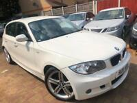 BMW 120D DIESEL M SPORT 2011 AUTOMATIC 1 PREVIOS OWNER LEATHER PARKING SENSER...