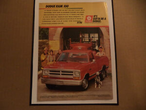 OLD PICKUP CLASSIC CAR ADS man cave Windsor Region Ontario image 1
