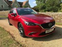 2016 Mazda Mazda6 2.2 SKYACTIV-D Sport Nav Tourer 5dr Estate Diesel Manual