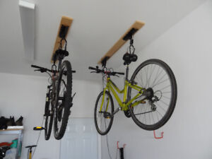 OVERHEAD BICYCLE STORAGE