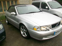 Volvo C70 2.4 auto 2005MY T GT convertible electric hood 70k only