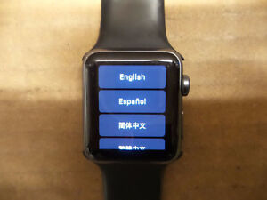 Apple Smart Watch Series 2 with Large Wristband