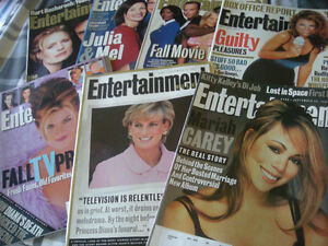 Entertainment Weekly Magazines 1997
